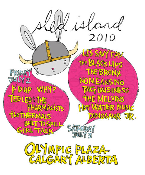 Sled Island 2010 Poster